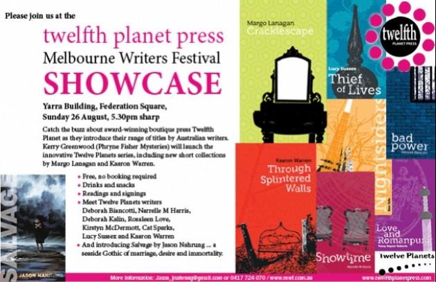 Twelfth Planet Press @ MWF