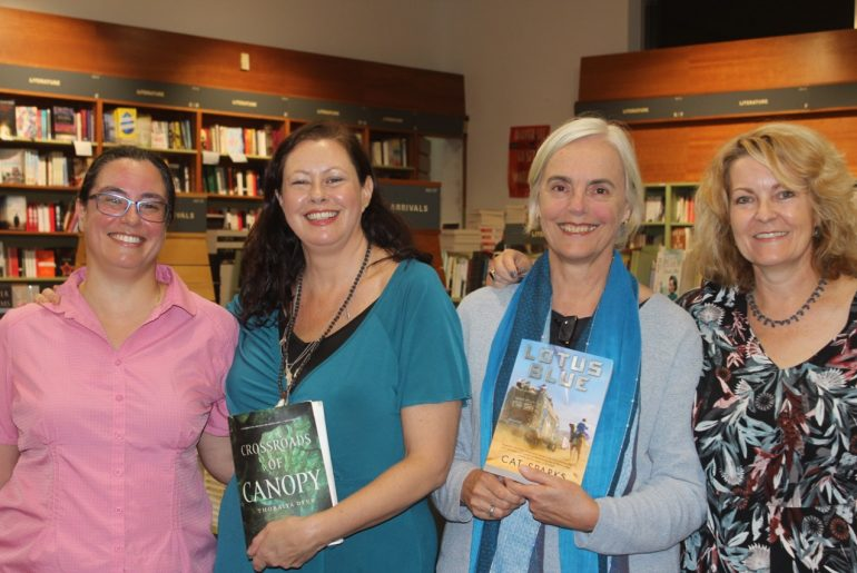 Thoraiya Dyer, Kate Forsyth, Margo Lanagan & Cat Sparks