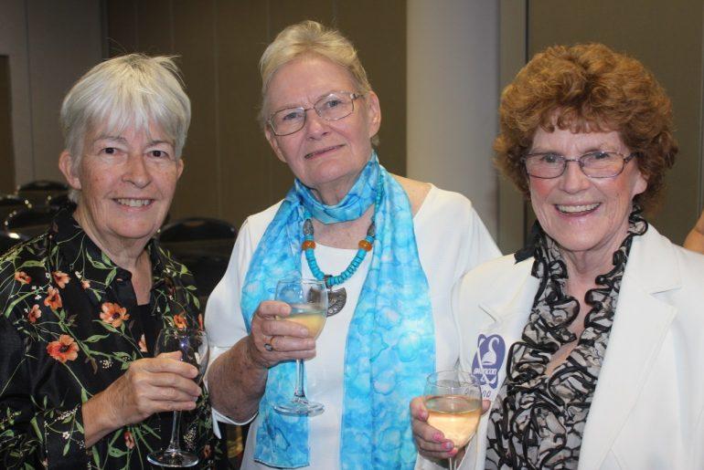 Juliet Marillier, Glenda Larke and Davina Watson