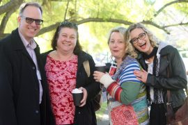 Garth Nix, Trudi Sommers, Nicole Lenoir-Jourdan and Jo Anderton