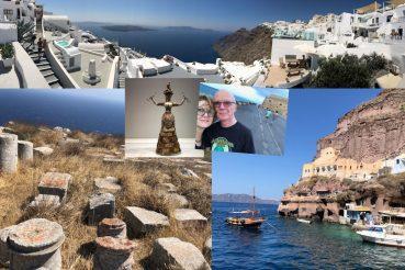 Crete and Santorini